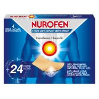 NUROFEN Léčivé náplasti 200 mg 4 ks