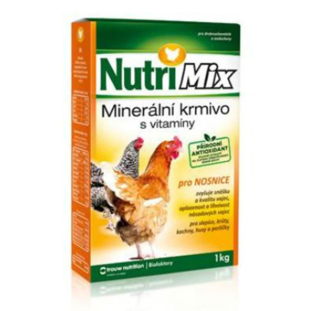 NUTRI MIX Minerální krmivo pro nosnice 1 kg