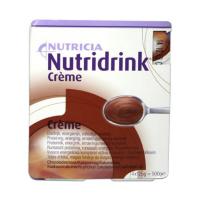 NUTRIDRINK Creme s příchutí Čokoládovou 4x125 g