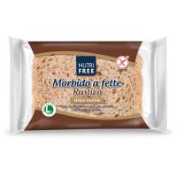 NUTRIFREE Toastový chléb celozrnný bez lepku 165 g