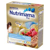 NUTRIMAMA Cereální tyčinky s brusinkami a malinami 200 g