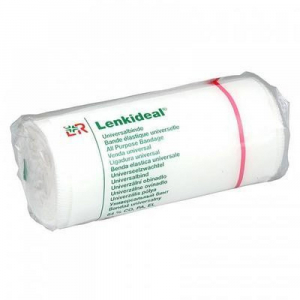 LENKIDEAL Elastické obinadlo krátký tah 10 cm x 5 m/1 ks