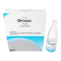OFTAGEL  3X10GM/25MG Oční gel