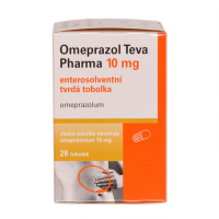 OMEPRAZOL Teva Pharma 10 mg x 28 tobolek