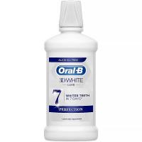 ORAL-B 3D White Luxe Perfection Ústní Voda bez alkoholu 500 ml
