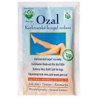 OZAL Karlovarská koupelová sůl na nohy 25 g