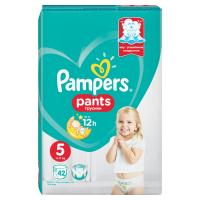 PAMPERS Pants vel.5 VPP 12-17kg Kalhotkové plenky 42 ks