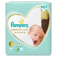 PAMPERS Premium Care 1 Newborn 2-5kg 78 kusů