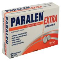 PARALEN Extra proti bolesti 500 65 mg 12 tablet