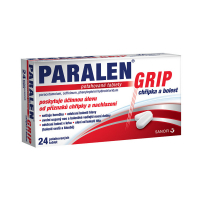 PARALEN GRIP Chřipka a bolest 500 mg 24 potahovaných tablet