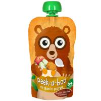 PEEK-A-BOO Puree Broskev a cookie 113 g