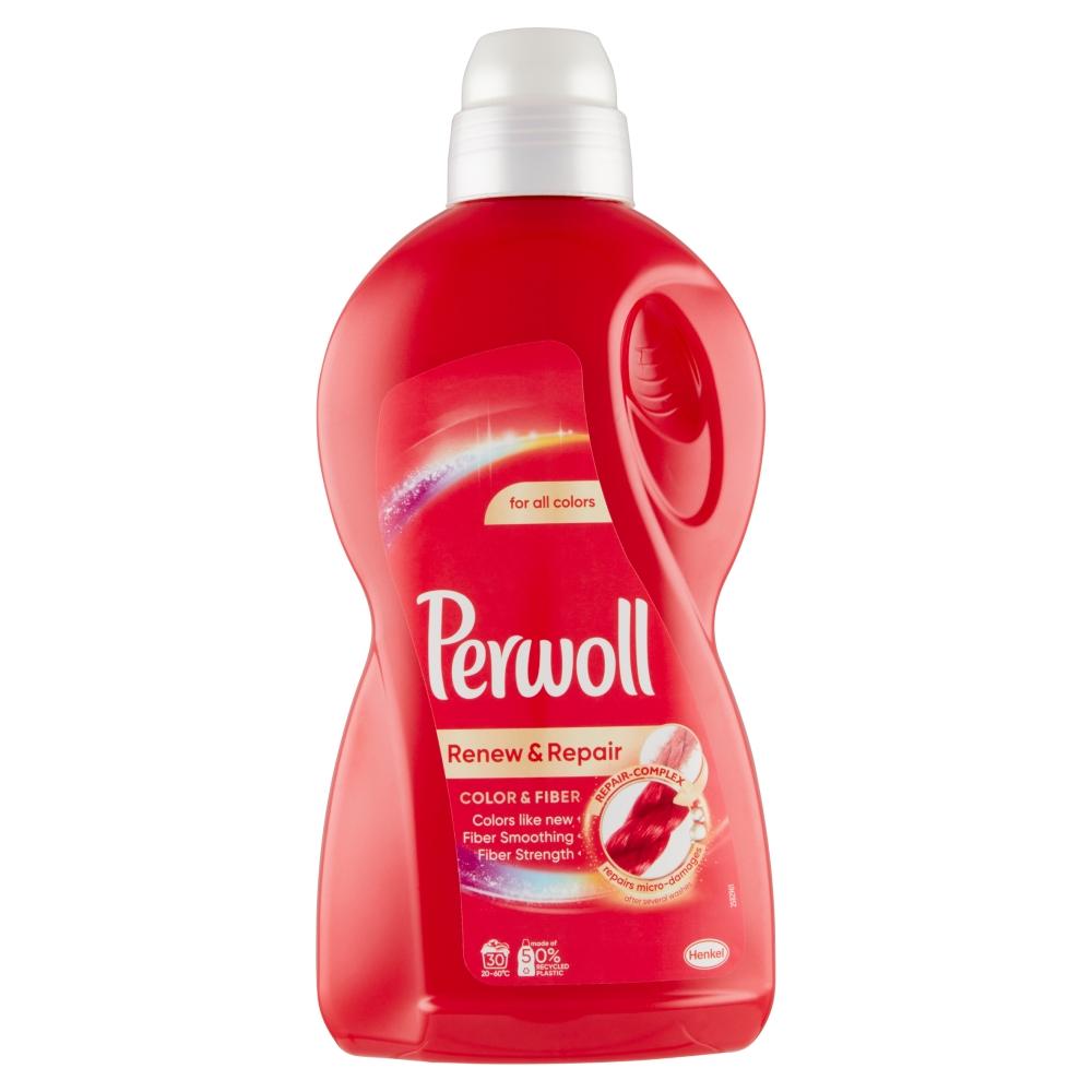 PERWOLL Color & Fiber Prací gel 30 praní 1,8 l