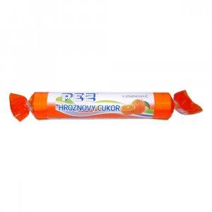 PEZ Hroznový cukr s vit.C pomerančový 39 g