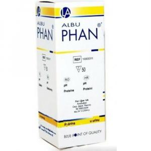 PHAN Albu Diagnostické proužky 50 kusů