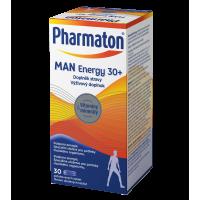 PHARMATON Man Energy 30+ 30 potahovaných tablet