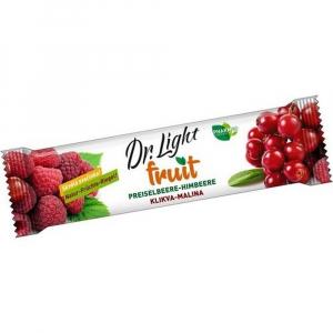 DR. LIGHT FRUIT Ovocná tyčinka Klikva-malina tyčinka ovocná 30 g