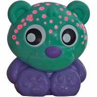 PLAYGRO usínací lampička medvídek s projektorem – zelený