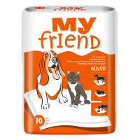 MY FRIEND Podložky 90x60 cm 10 ks