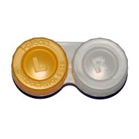 POUZDRO Anti-bakteriální na kontaktní čočky 1 ks, Barva: Žlutá