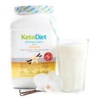 KETODIET Proteinový nápoj s příchutí vanilka 35 porcí