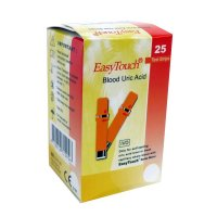 EASYTOUCH Testovací proužky pro měření kyseliny močové 25 kusů