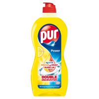PUR Power Lemon Extra Tekutý prostředek na ruční mytí nádobí 450 ml