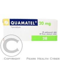 QUAMATEL 20 MG  28X20MG Potahované tablety