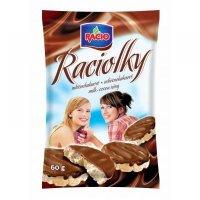 RACIOLKY mléčně - čokoládové 60g