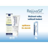 REJUVASIL silikonový gel na jizvy 4 g