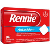 RENNIE Žvýkací tablety 96 tablet