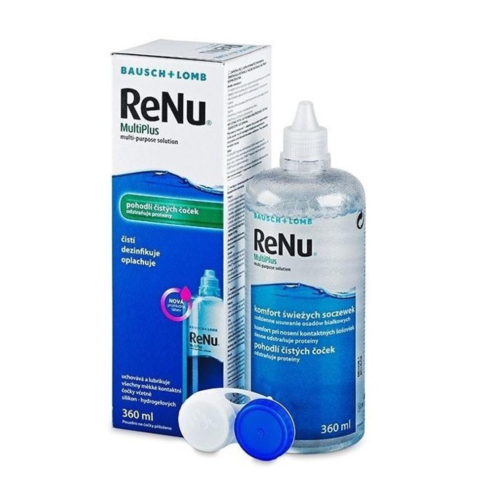 RENU Multiplus roztok na kontaktní čočky 360 ml