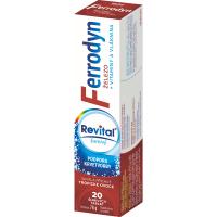 REVITAL Ferrodyn 20 šumivých tablet