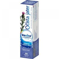 REVITAL Očista jater 20 šumivých tablet