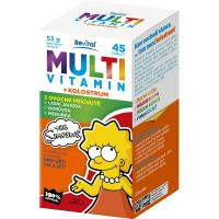REVITAL The Simpsons Multivitamin + kolostrum 45 tablet