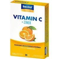 REVITAL vitamín C + zinek 30 tablet