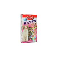 SANAL Kitten losos dospělá kočka a.u.v. 40 tablet