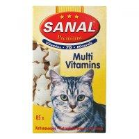 SANAL Premium multivitamin kočka a.u.v. 85 tablet