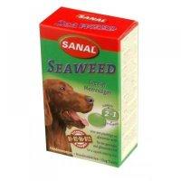 SANAL Seaweed mořská řasa dospělý pes a.u.v. 100 tablet