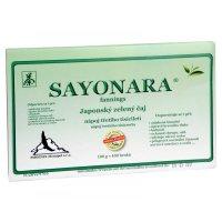 SAYONARA powder Japonský zelený čaj 4 sáčky x 25 g