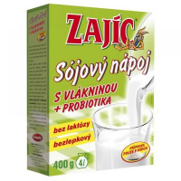 MOGADOR Sójový nápoj Zajíc s vlákninou 400 g