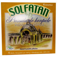 Solfatan přísada do koupele 4x100g