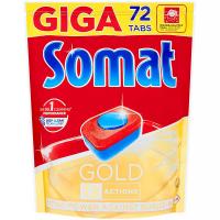 SOMAT Gold Giga tablety do myčky nádobí 72 tablet