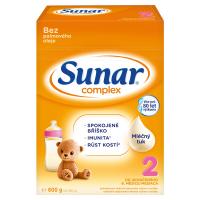 SUNAR Complex 2 Pokračovací batolecí mléko od 6 měsíce 600 g