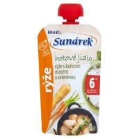 SUNÁREK Rýže s kuřecím masem a zeleninou 120 g