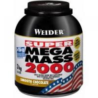 WEIDER Super Mega Mass 2000 Gainer Vanilka 3000 g