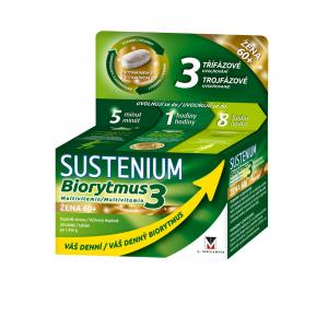 SUSTENIUM Biorytmus 3 multivitamin Žena 60+ 30 tablet