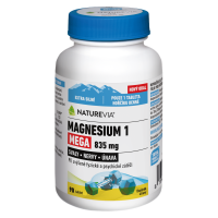 SWISS NATUREVIA Magnesium 1 Mega 835 mg 90 tablet