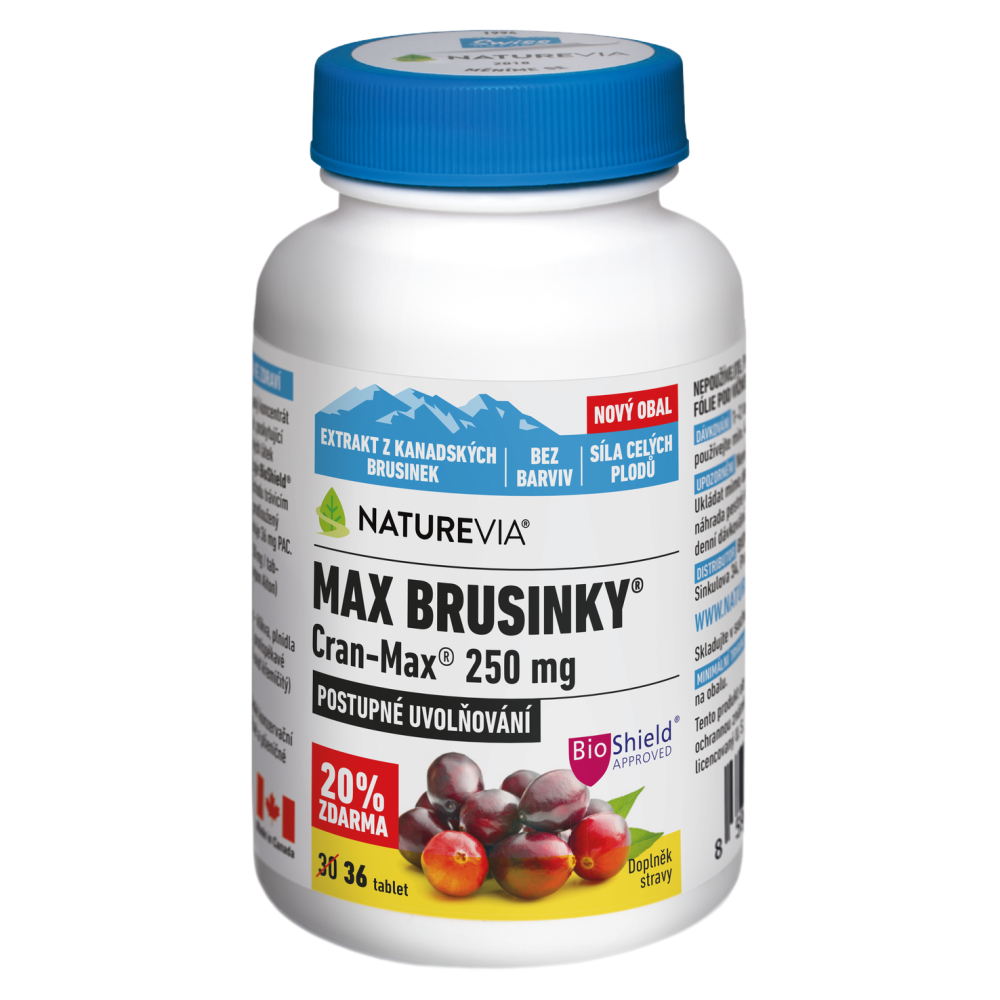 SWISS NATUREVIA Max Brusinky Cran-Max 30+6 tablet