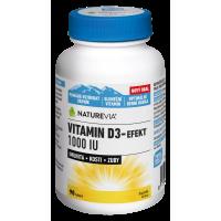 SWISS NATUREVIA Vitamín D3-Efekt 1000I.U. 90 tablet