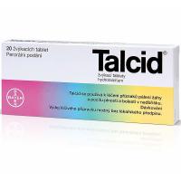 TALCID® hydrotalcitum 500 mg 20 žvýkacích tablet